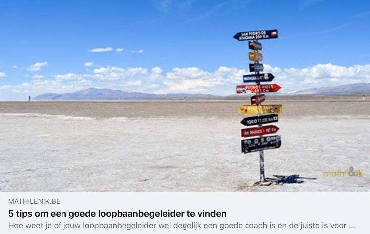 Blog | 5 Tip Om Een Goede Loopbaanbegeleider Te Vinden | Mathil&ik